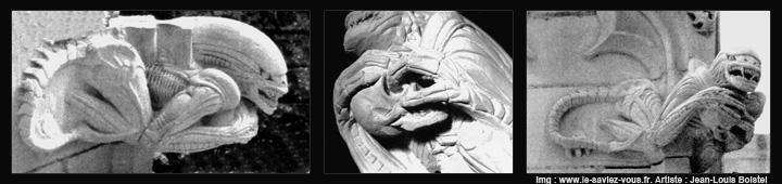 Le saviez-vous?Les gargouilles de la chapelle de Bethleem Alien-gargouille-chapelle-bethleem-2