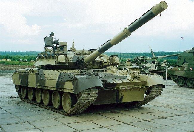 الأسلحة الحديثة لدى الجيش السوري T-80U