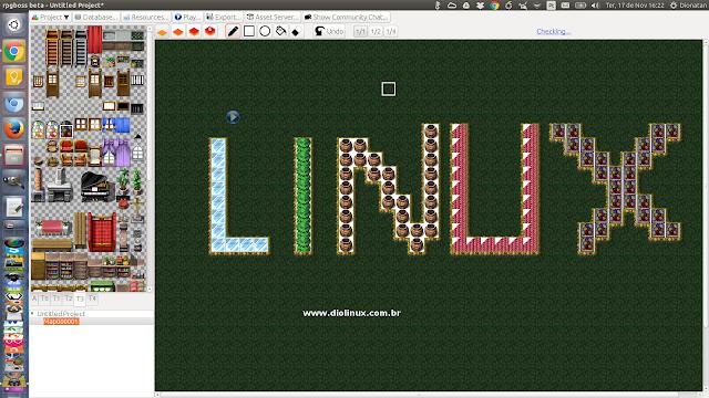 RPGBoss - Rpg Maker do Linux Rpgboss