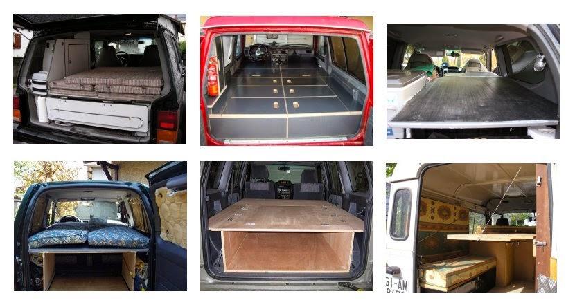 Sleeping-plattforms - how to sleep inside 4x4-innenausbau-beispiele-schlafplattform-leichtbau-flightcase-sleeping-plattform