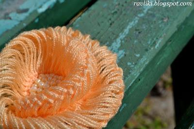 Вязание броши на вилке  Hairpinbrooch2