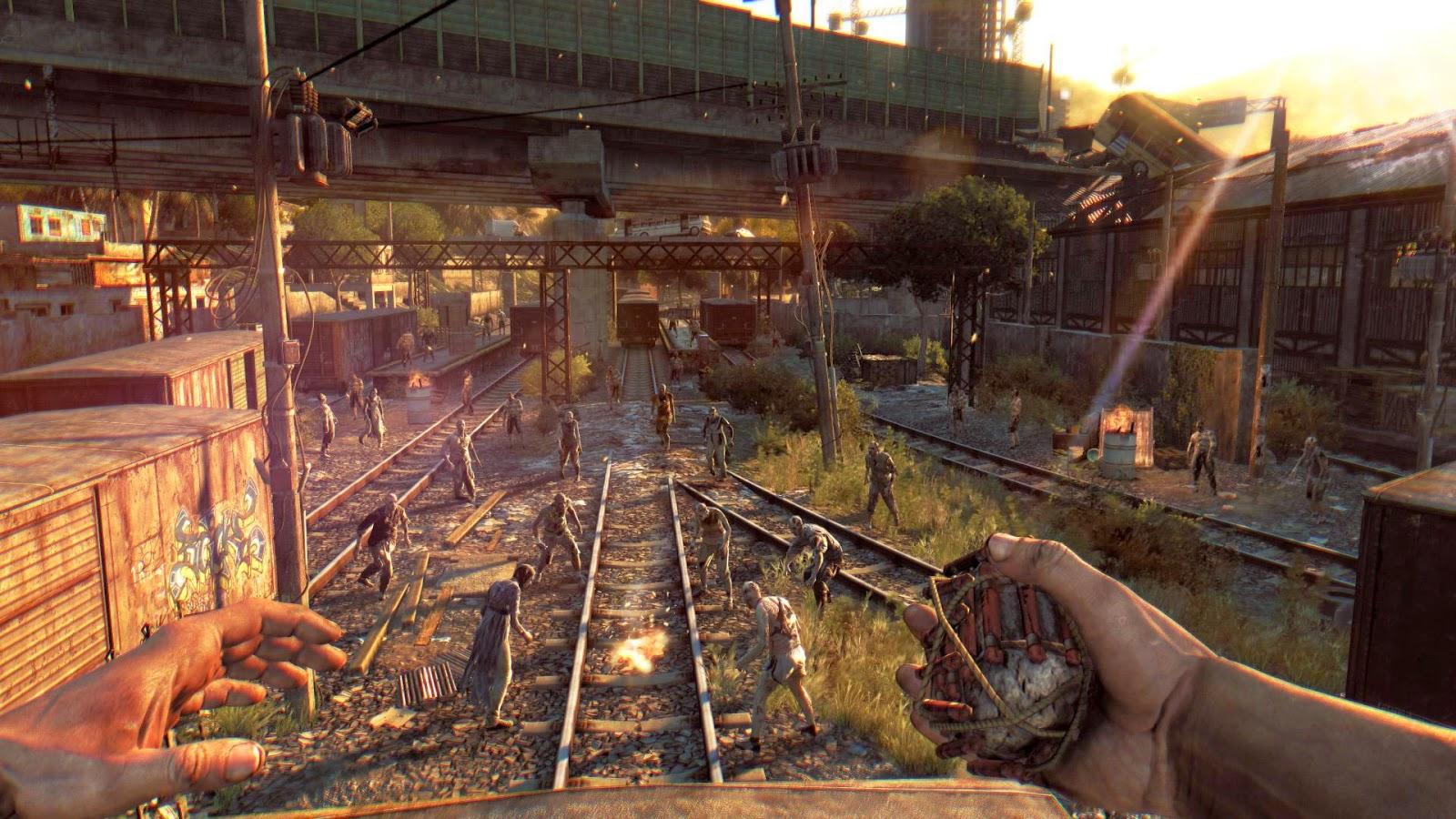 تحميل و تثيت لعبة Dying Light كاملة مع الاون لاين 4