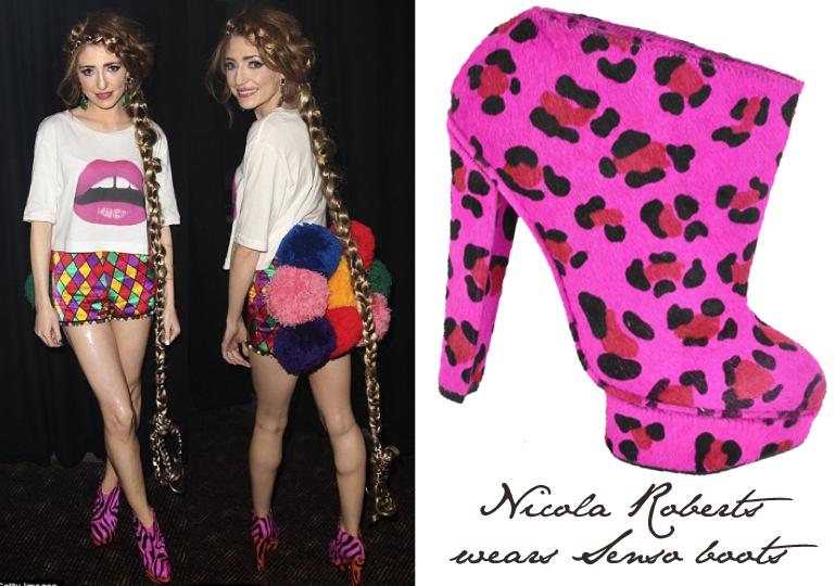 Fashion, Moda, Maquillaje de Girls Aloud Nicolarobertsboots