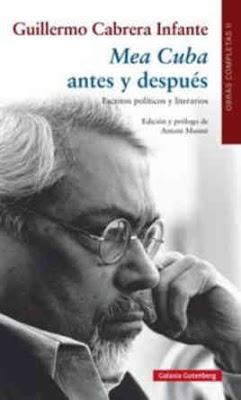 """""""MEA CUBA ANTES Y DESPUÉS"""" GuillermoCabreraInfanteMeaCulpaantesydespues"""