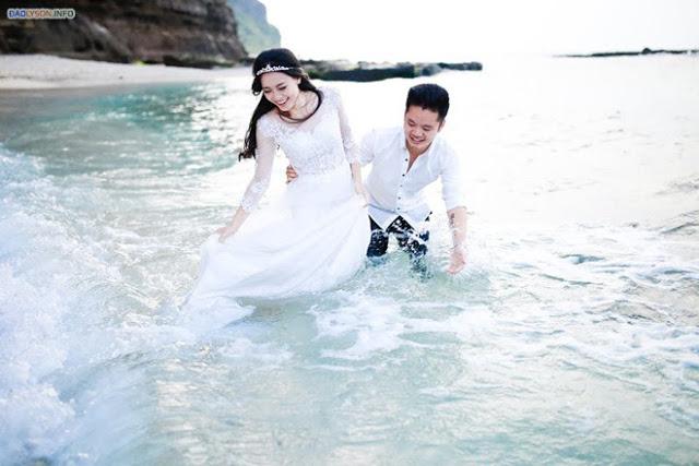Bộ ảnh cưới lãng mạn của cặp đôi 9X tại đảo Lý Sơn  2