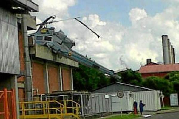 Armée Colombienne / Military Forces of Colombia / Fuerzas Militares de Colombia - Page 4 B412_Fuerza%2BAerea_Accidente2