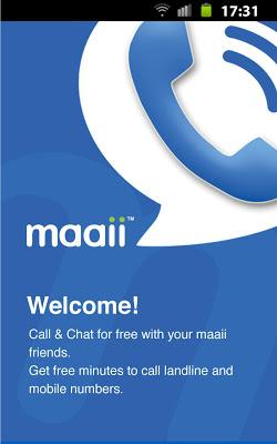 تحميل برنامج Maaii للمكالمات والرسائل المجانية للاندرويد والايفون Maaii