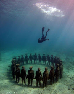 Los jardines de esculturas submarinas  Vicissitudes25wtmk