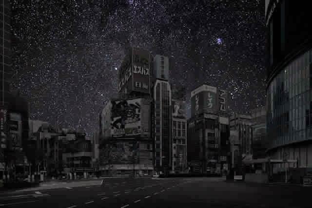 كيف ستبدوا المدن الكبرى لو خيم عليها الظــلآم الدامـس ..؟! Tokyo1