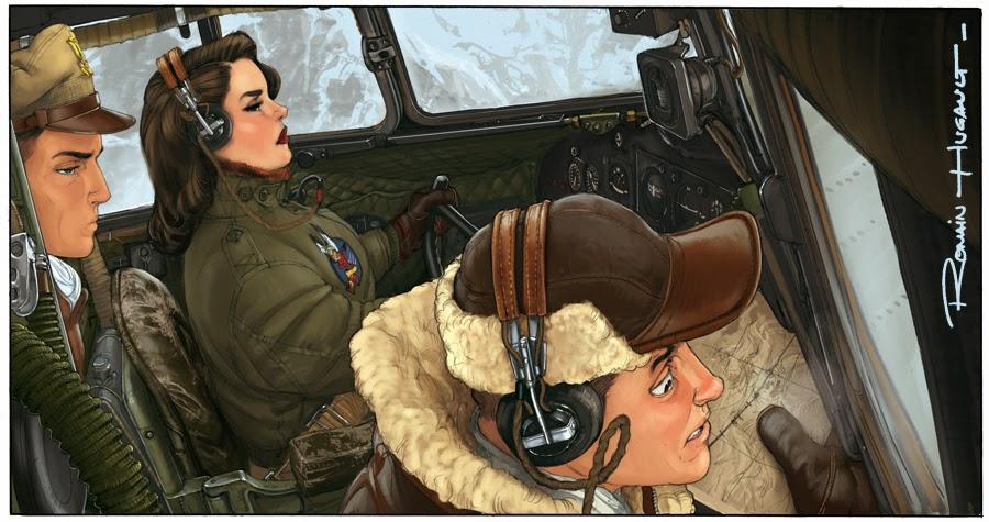 Le nouveau Romain Hugault : Angel Wings Tome 1 10-15