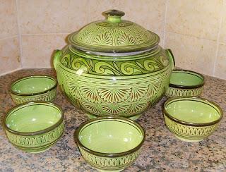 أطباق و أواني من الفخار صنع المغرب 10