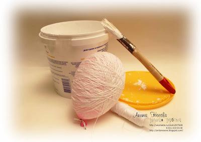 Елочное украшение - Воздушный шар от Аниты Носовой  3