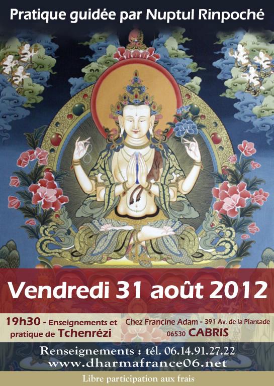 31 août 2012 - Nuptul Rinpoché (Cabris - France) CBlog