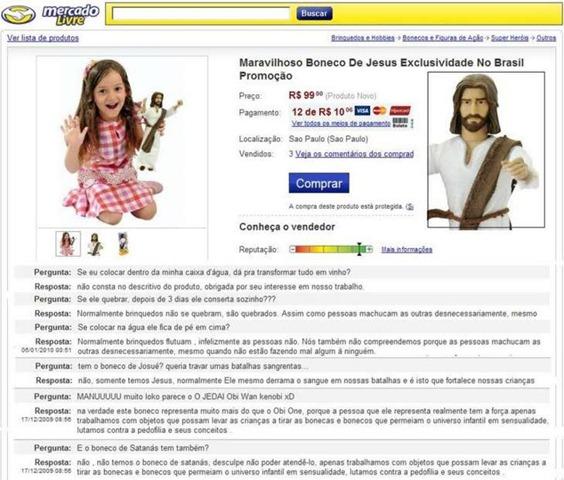 """Coisas Malucas Encontradas no""""mercado Livre"""". 0134"""