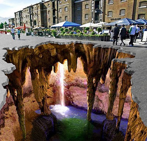 Imagem do dia - Página 5 Graffiti-Illusion-Street-Art-3D-Painting