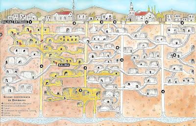 Humanoids: Northern Cheyenne Reservation / Derinkuyu Underground City  Derinkuyu_map