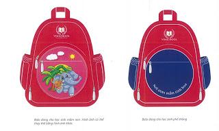 Trọng Phát Co.LTD: Nhận làm hợp đồng balo, túi xách, cặp các sản phẩm dùng làm quà tặng, quảng cáo  - Page 2 Vinschool