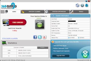 360Amigo System Speedup Free 1.2.1.8200 360amigosystemspeedup