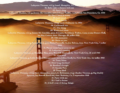 Ce que vous écoutez  là tout de suite - Page 7 ThomasLafayetteDos