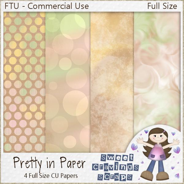 "January Rain Blogtrain ""Pretty in Paper"" - CU Full Size Paper Set! SCS_JRBT_PrettyInPaper"