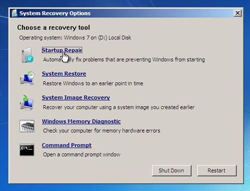 انشاء نقطة استعادة نظام System Restore في الويندوز 6