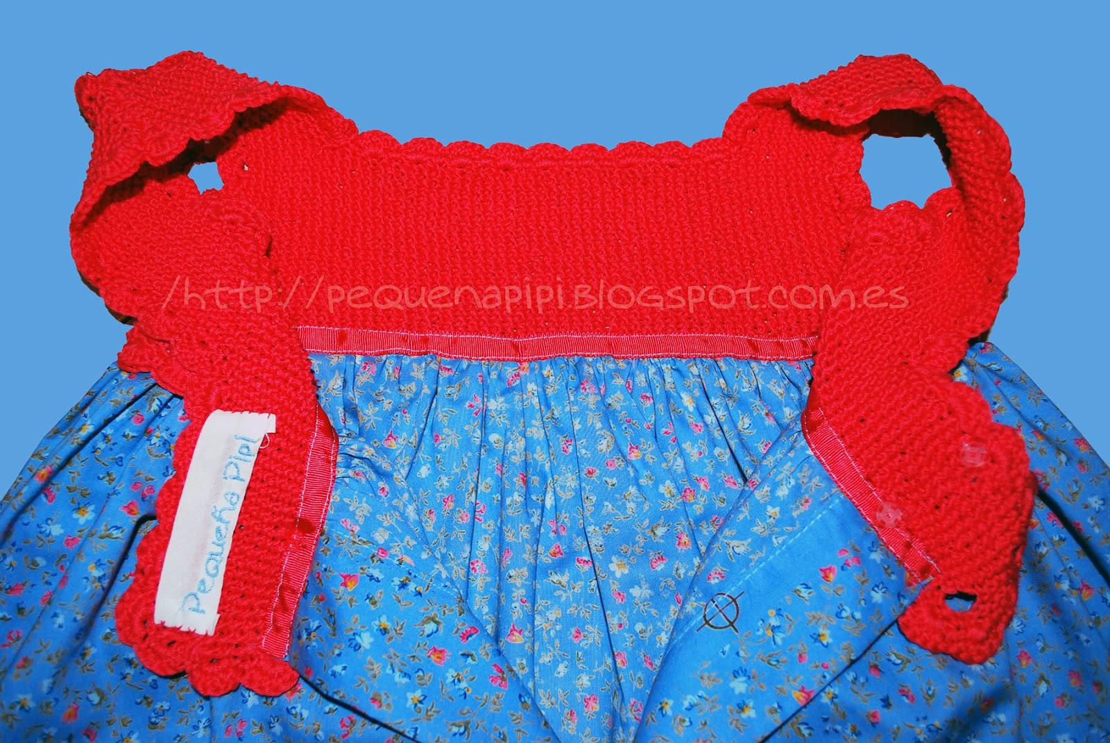 vestido - Vestido con canesu de punto arroz DSC_0260