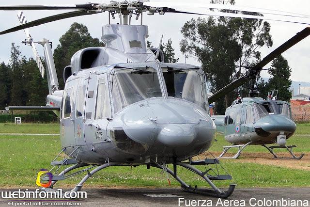 Armée Colombienne / Military Forces of Colombia / Fuerzas Militares de Colombia - Page 4 B412_fac0005_fuerza%2Baerea