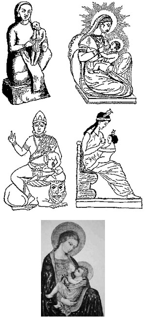 ИСТИНА или ЛОЖЬ - Страница 2 Pagan-goddeses