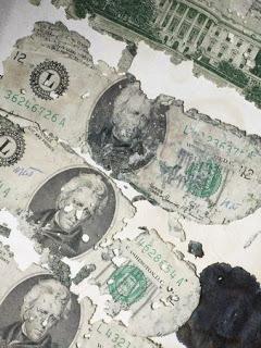 """FBI tem nova pista sobre """"pirata aéreo"""" desaparecido em 1971  Dan%2BCooper_money%2Bfound"""