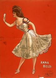 La historia del cuplé y las cupletistas españolas más famosas. Finales del XIX y principios del XX. Anna-held