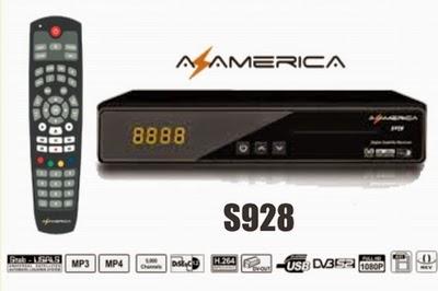 Nova atualização  para  seu aparelho da marca  Azamerica 928   ON  com att da globalsat HD. Data:17/02/2015. AZ%2BAMERICA%2BS928