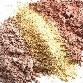 I veri ingredienti del fondotinta minerale Min
