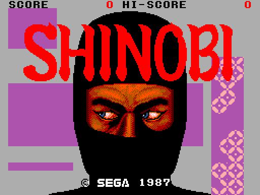 Clássico da Semana - Shinobi. SMS - 29/05 - 04/06 SHINOBI-5