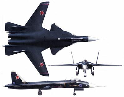 Aviones Rusos  Sujoi-su-37-3