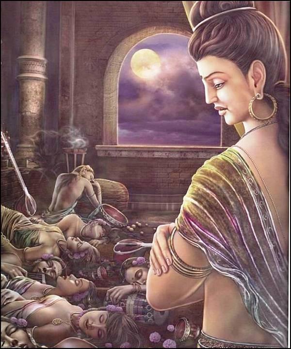புத்தரின் வாழ்க்கை வரலாறு, படங்களுடன்... 10