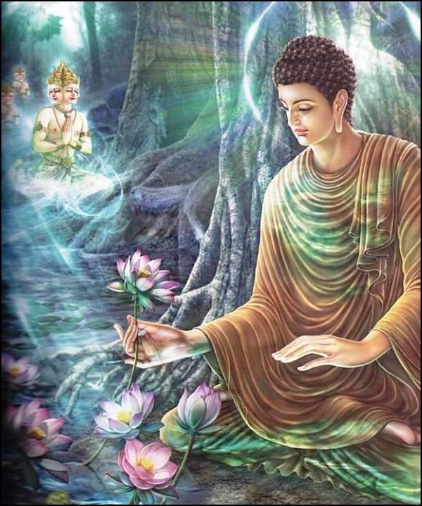 புத்தரின் வாழ்க்கை வரலாறு, படங்களுடன்... 20