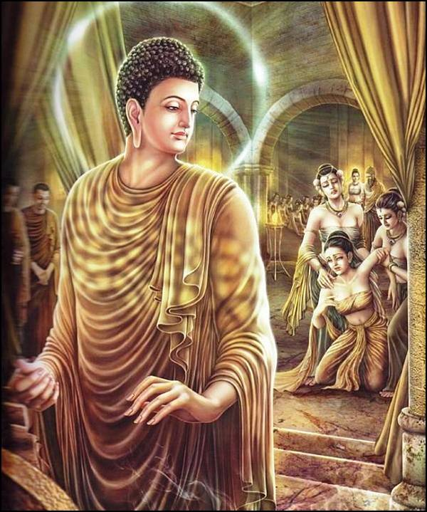புத்தரின் வாழ்க்கை வரலாறு, படங்களுடன்... 25