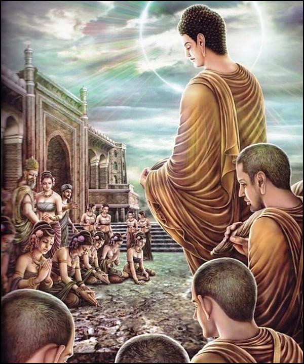 புத்தரின் வாழ்க்கை வரலாறு, படங்களுடன்... - Page 2 30