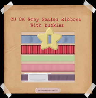 Grey scale ribbon w/buckle - By: Digital Scrapbooking Goddess CURibbonsPreview
