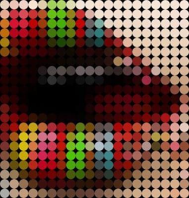[Man] Píxeis redondos de Pop Art no Phot 08