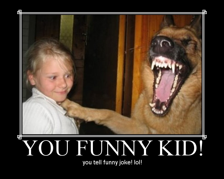 DALLAS NEWSFLASH Ausgabe #16 Funny-kid-tells-joke-to-dog