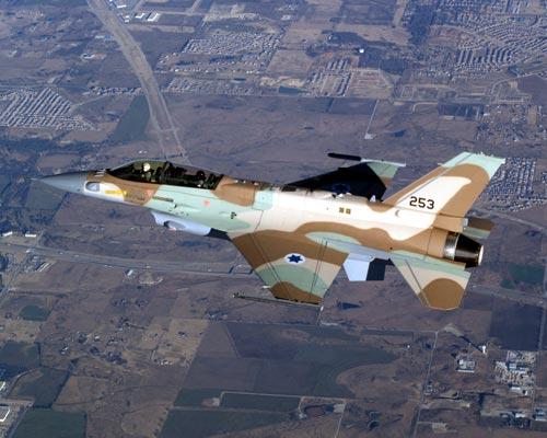 مقاتلات سلاح الجو الاسرئيلى من طراز f16 s عادت للخدمه  F16I