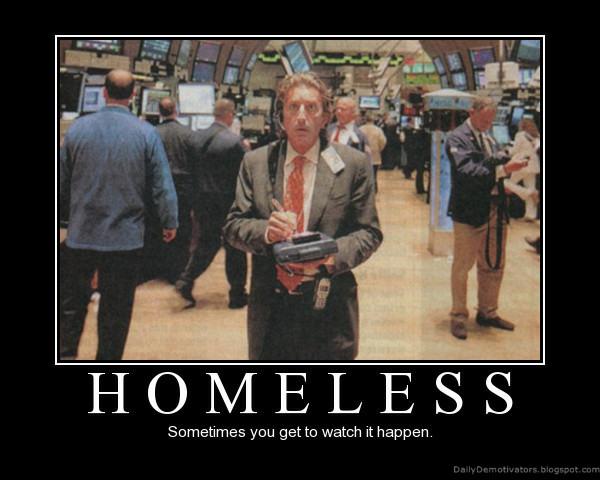 Funny Demotivational Posters Homeless-demotivational-poster