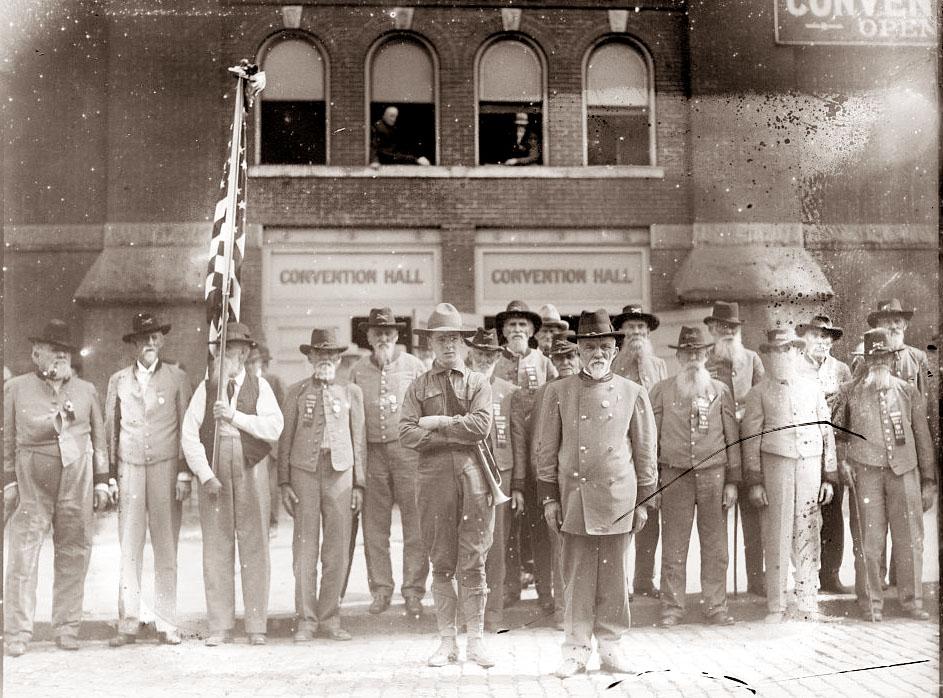 photos de sudistes Confederate-veterans