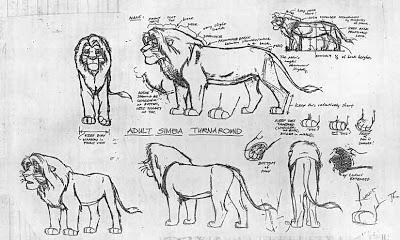 A que no sabias esto de el rey leon AdultSimbaTurnaroundModel