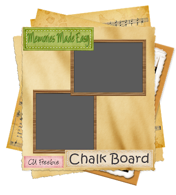 Chalk Board (Memories Made Easy) MME_ChalkBoard_Preview