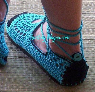 احذية كروشيه روعة  Crochet%20shoes