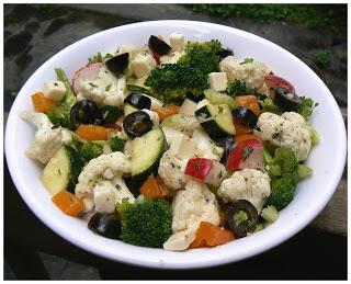 Salade de brocoli et chou-fleur P1380417