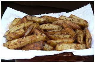 Frites au four à la Sylvain P1390506