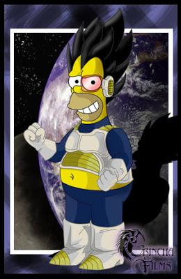 cosplays simpson 2 Homero%2Bvegeta